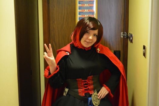 Ruby 2 - RWBY - Kitacon 2014 by madevilman