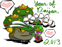 Year of the Daijan '13 by SLiDER-chan