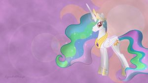 Princess Celestia Wallpaper #2 by LyraArtstrings
