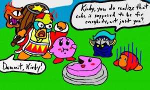 Kirby 20th Anniversary! by AuthorNumber2