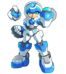 Mighty No. 9 Beck by pychopat2