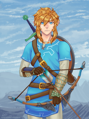 Link - Breath of the Wild by CindyTrieu
