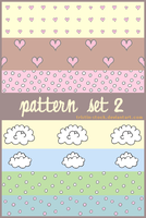 Pattern Set 2 by tristin-stock