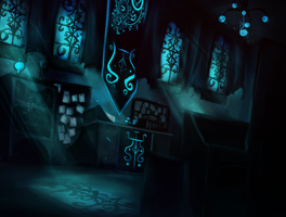 Item Enchantment and Soul Study classroom by SilentAndSullen