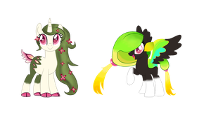 Terra Diva and Tropicana Lime by Vitannyy
