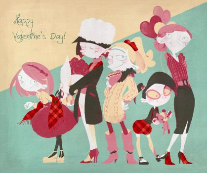 Happy Valentine's Day by knknknk