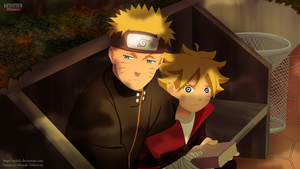 Naruto The New Era: Boruto and Naruto: memories by TeDeIk