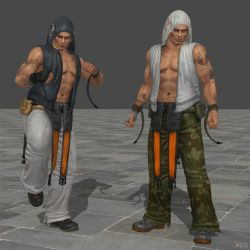 REUPLOAD  Rig DOA5 1P and 4P by Violachanbro