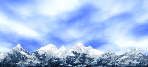 Mountains by BenRR
