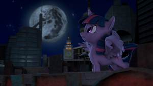 The Night Returns by RedAceOfSpades