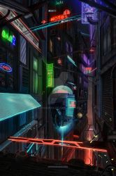 The Red Light District 2050 by xjosh2k6x