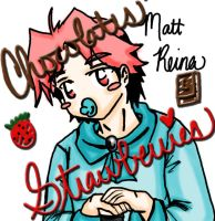 Chocolates' Strawberries_Matt by blwhere