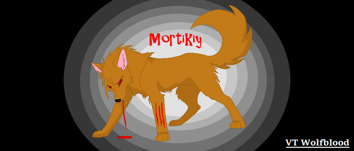 A Life Of Revenge Mortikiy messy scratch by Lpswolfblood69