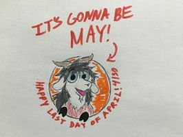 IT'S GONNA BE MAY by Revenir-Ghoul