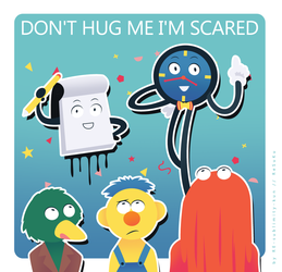 _.: don't hug me i'm scared :._ by ReSuKu