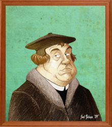 MARTIN LUTHER by Reformed-Artiste