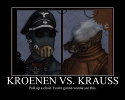 Kroenen V. Krauss Motivational by CountVonZeppelin