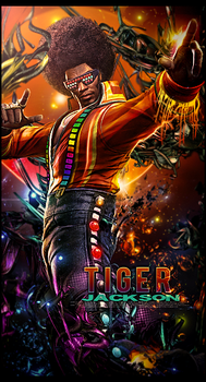 Tiger  Jackson by MARKCAPE