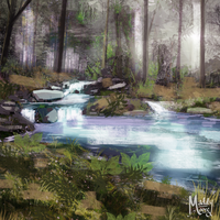 Pond Study  by LivingAliveCreator