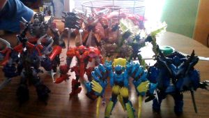 My Movie Dinobot Collection by Sideswipe217