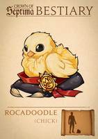 012: Rocadoodle (Chick) by ArchivesofSeptima
