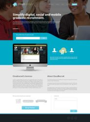 Cloudrecruit Webpage Design by TheDpStudio