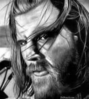 Ryan Hurst as Opie Winston - SONS OF ANARCHY by Doctor-Pencil