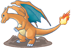 006 - Charizard by Volmise