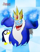 Adventure Time-Ice King by Dee-Artist
