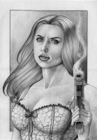Black Widow Pencil by NOOSBORN