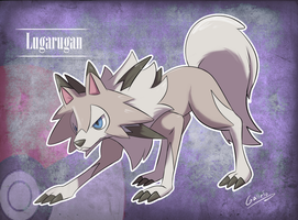 Lugarugan [Lycanrock] (Rockruff evolution) by GalletoconK