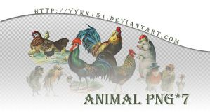 Animal png pack #06 by yynx151