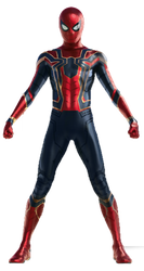 Infinity War Spider-Man (3) - PNG by Captain-Kingsman16