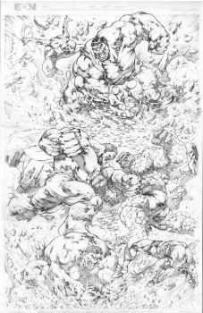 Commission Hulk History part 1 JL 2016 by JoseLuisarts