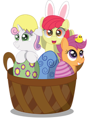 A Basket of Crusaders by SpellboundCanvas
