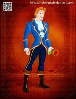 Beast Prince Adam Beauty and the Beast Disney by Richmen