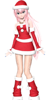 Project Diva Arcade Future Tone Christmas Luka by WeFede