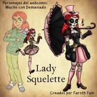 Lady Squelette by FarothFuin