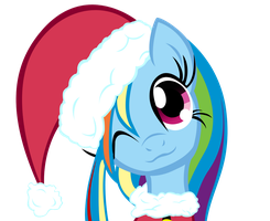 Merry Little Rainbow Dash by Soohable