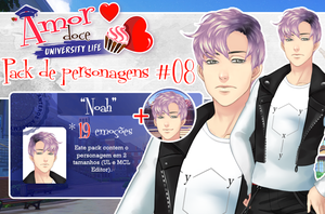 Pack de personagens #08 by Unnieverso