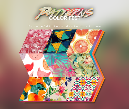 Color Fest // O9 PATTERNS by FranceEditions
