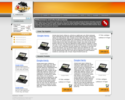 E-Shop by King-Billy