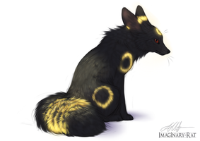 Eevee Week - Umbreon by Imaginary-Rat