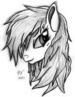 Rainbow Dash Commission Sketch by AncientOwl
