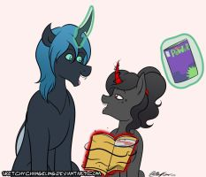 Can We Read Another One? by SketchyChangeling