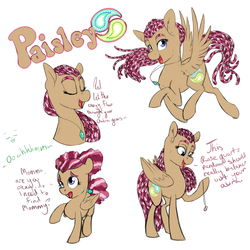 Meet Paisley by FaeDeeDraws
