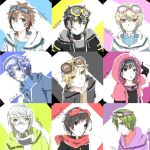 :doodle: Kagepro Males x Goggle by Shortnime