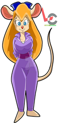 Gadget Hackwrench by Lonely-Cartoonist