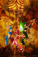 Power Puff Girls Redux by red5