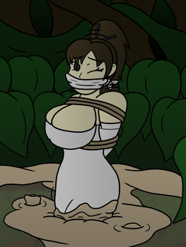 You May Save the Bride (Gagged ver.) by silentzorah